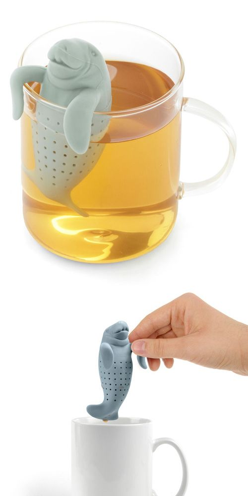 Manatea Tea Infuser. Get in my mug. now.