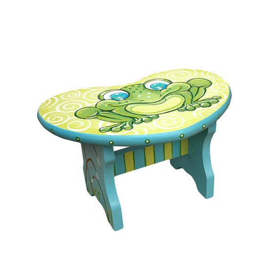 1000 Ideas About Hand Painted Stools On Pinterest Funky