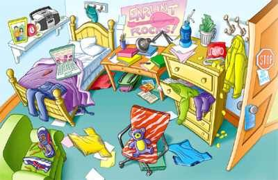 messy bedroom clipart | bedroom ideas pictures | didacticas