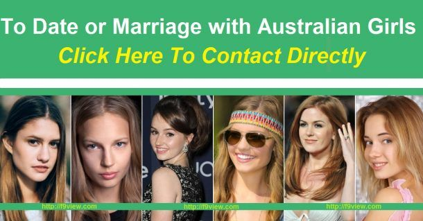 australian girls for marriage