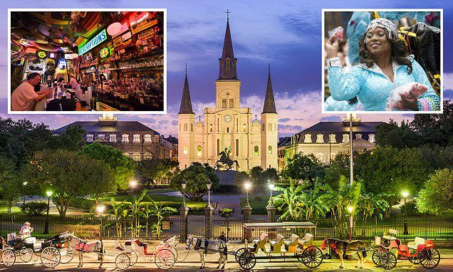A decade on from Hurricane Katrina New Orleans is in prime party mode
