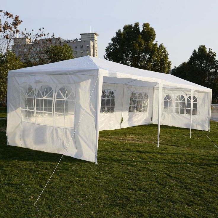 10'x30'Canopy Party Wedding Outdoor Tent Heavy duty Gazebo Pavilion Cater Events