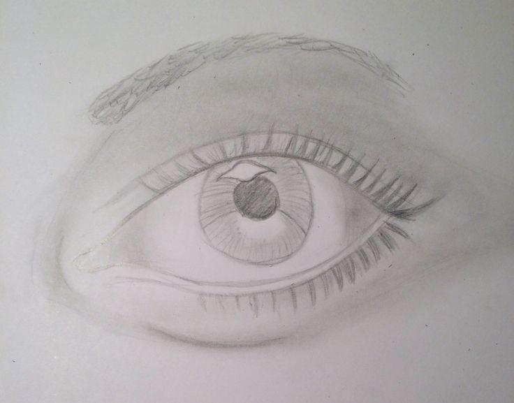 Eye in progress