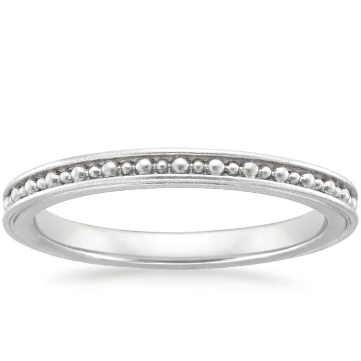 18K White Gold Vela Ring from Brilliant Earth