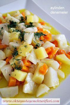 Portakal Sulu Zeytinyağlı Yer Elması