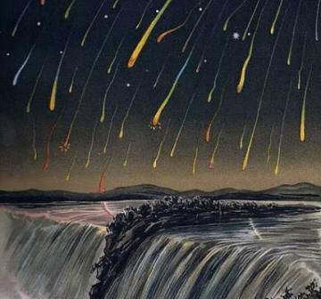 meteor showers 2015 guide dates shooting stars comets leonids | The Old Farmer's Almanac