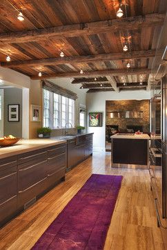 Exposed Ceiling And Track Lighting Design Ideas, Pictures, Remodel, and Decor - page 2