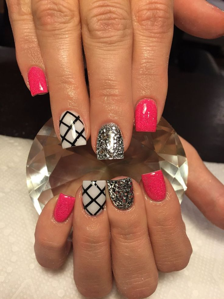 Black | X Marks The Spot Full Nail Decal | Nails | Nail Decal | Nail Art | Summer Nails | Spring Nails | Nail Design