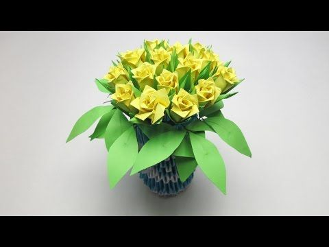 Origami Kusudama - YouTube