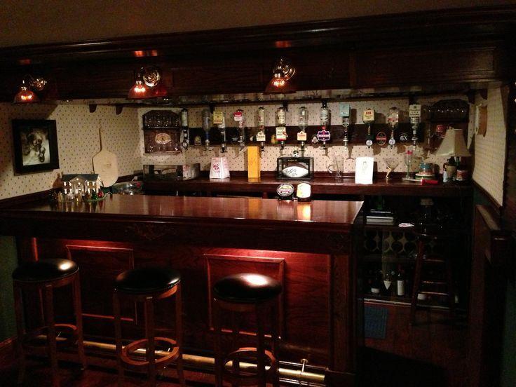 Man Cave Ideas Ireland : Ultimate man cave irish pub sneak peeks