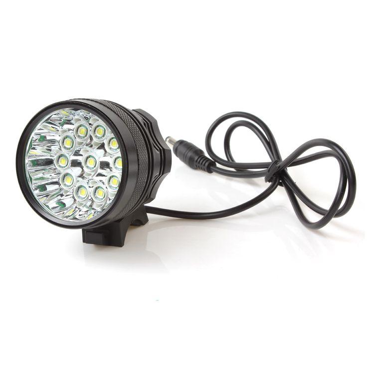 28000LM 11 x  XM-L T6 LED Camping Fishing Bicycle Cycling Flashing Light Lamp Waterproof