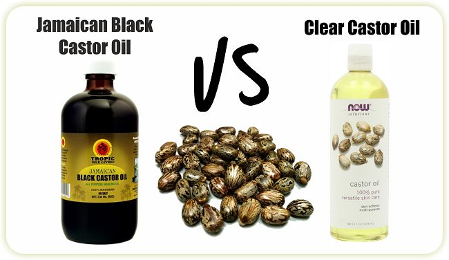 A post discussing the difference between Jamaican Black Castor oil and Regular Castor Oil