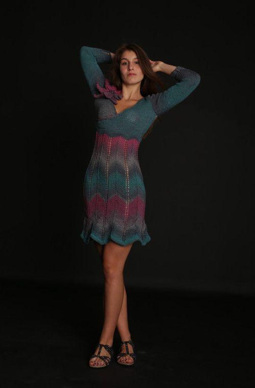 ddbcce7a3f Pletené šaty Lily of the Valley - vel. 36 38   Zboží prodejce fashionmartina