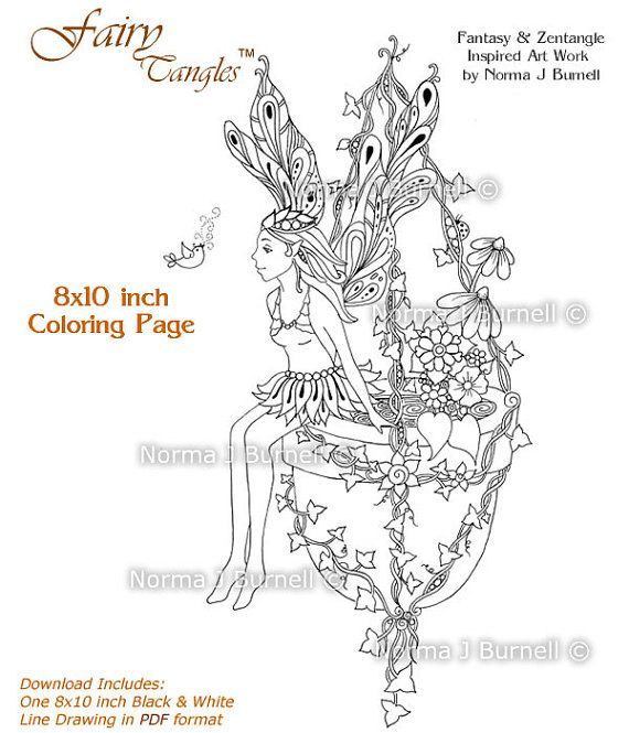 17 best images about fairy tangles u2122 coloring for adults on