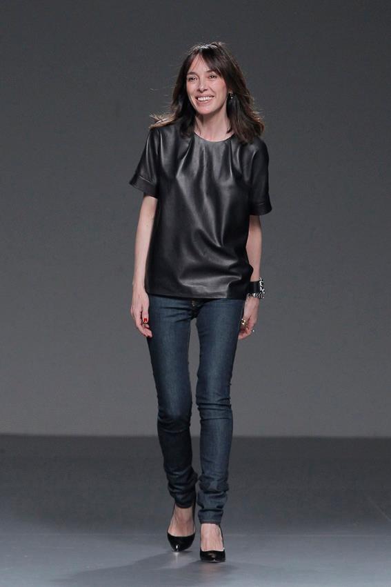 Teresa Helbig at the catwalk FW1314 Mercedes Benz Fashion Week Madrid www.teresahelbig.com