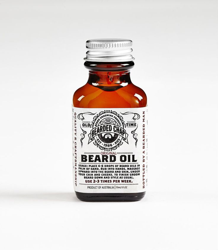 The Bearded Chap - Original Beard Oil, $38.00 AUD (http://www.thebeardedchap.com/original-beard-oil/)