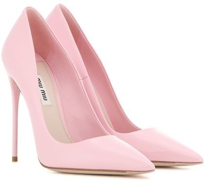 Miu Miu Patent Leather Pumps                                                                                                                                                     More