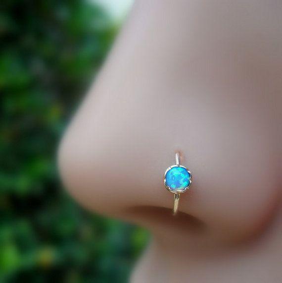 Nose Ring Hoop Tragus Earring Helix Earring