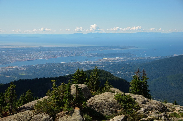 View from Mount Seymour by colink., via Flickr