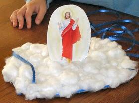 Catholic Icing: Ascension of Jesus Crafts for Kids
