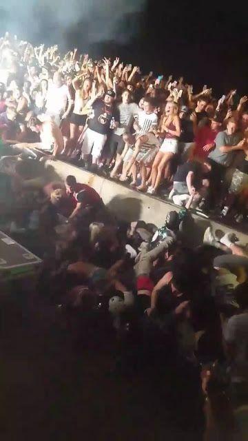 Concert Snoop Dogg et Wiz Khalifa: Une tribune s'effondre Plus de 40 blessés…
