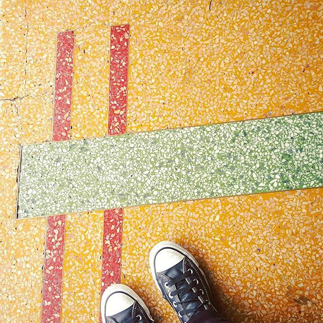 👣 #lookdown #fromwhereistand #fromabove #converse #cons #floor #feet #feetstagram #shoes #shoestagram #vintage #retro #addictedtodeco #tiles #instatile #artdeco #shapes #patterns #shopfront #summerhill #innercity #innerwest #sydney #hiddensydney #mycityofsydney #sydneylocal #sydneyheritage #igerssydney #icu_aussies #instasydney