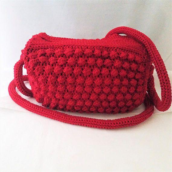 Crochet Handbag  Crochet Crossbody Bag  Crochet Shoulder Bag