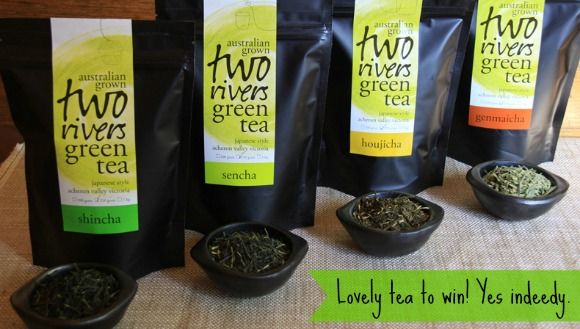 Win! 1 of 3 packs of Two Rivers Green Tea | Reality Chick