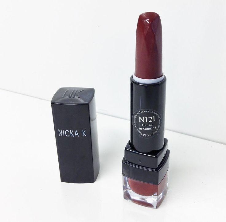 Nicka K New York Lipsticks: N121 Henna Discontinued Line New & Sealed
