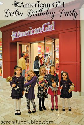 Bistro Birthday Party at the American Girl Store | Serenity Now