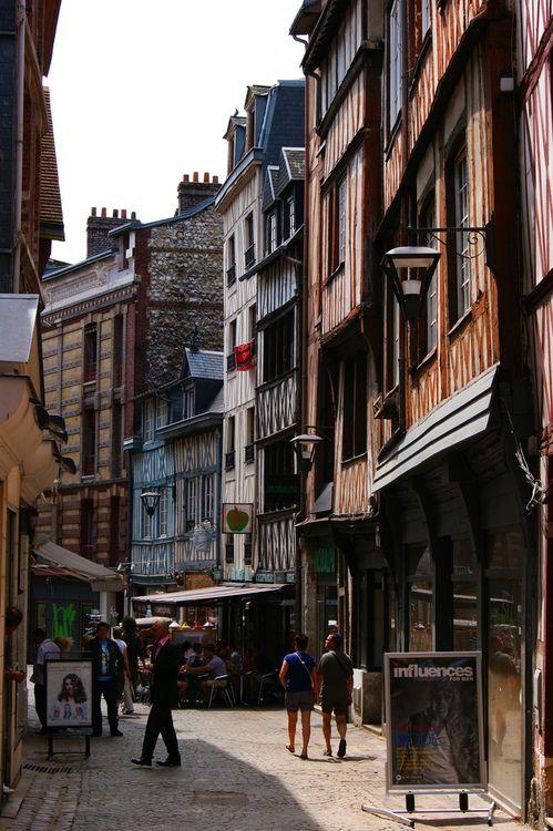 historic Rouen, France