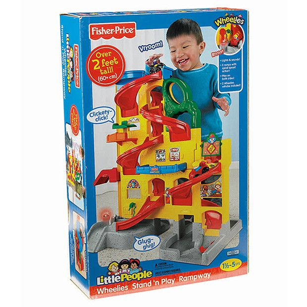 Fisher-Price Little People Stand 'N Play Rampway