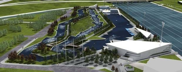 RIVERSPORT Rapids, OKC's $45 million whitewater rafting and kayaking facility, is set to open to the public May 7. RIVERSPORT Rapids was built in the Boathouse District as a part of MAPS 3.