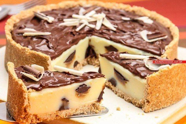 Torta trufada de leite em pó. | 15 das receitas mais gostosas que você pode fazer com leite Ninho