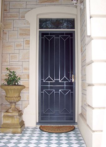 Security Doors Adelaide - Heritage and Modern Security Doors - Iron Curtains Topline Security Doors More