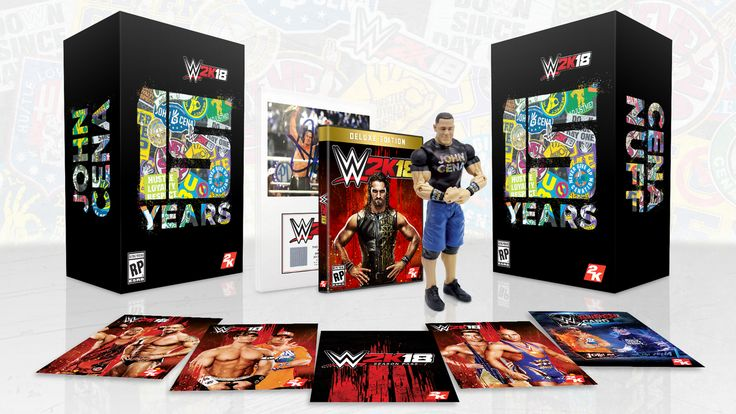 Learn about WWE 2K18 Collector's Edition Features John Cena http://ift.tt/2vN2ZRA on www.Service.fit - Specialised Service Consultants.