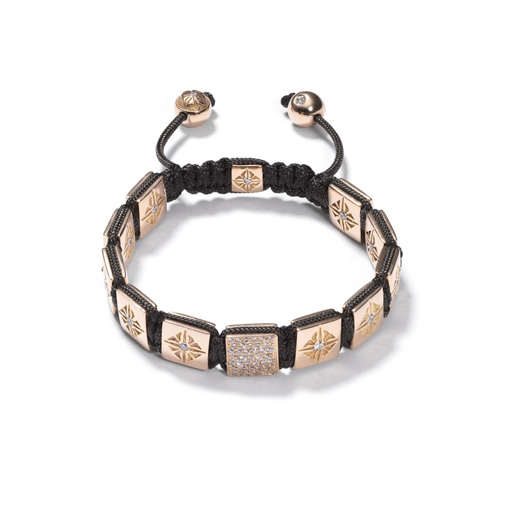 Rose Gold Lock Bracelet