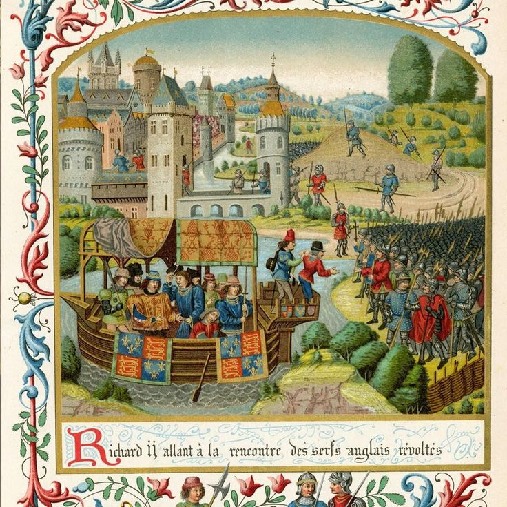 In the late 14th century, poll taxes, low wages, hard labour and exploitation had driven the peasants of England to revolt. The riots started in the village of Fobbing in Essex and spread quickly across the country. They rallied together and an estimated 100,000 peasants entered London seeking to petition the young 14-year-old King Richard II with their cause. On 13 June 1381, King Richard sailed from his safe location at the Tower of London to meet the peasant leaders. The rebels confronted…