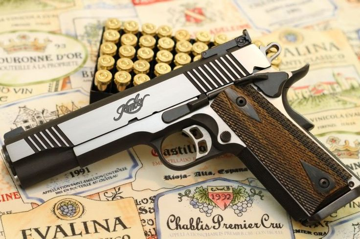 Kimber 1911 Eclipse     I will get this gun this year for my birthday :D