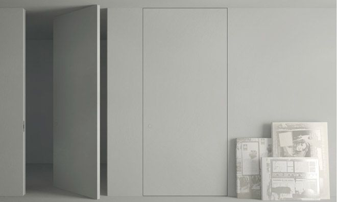 Les 25 meilleures id es de la cat gorie porte battante sur - Peindre des portes de placard en melamine ...