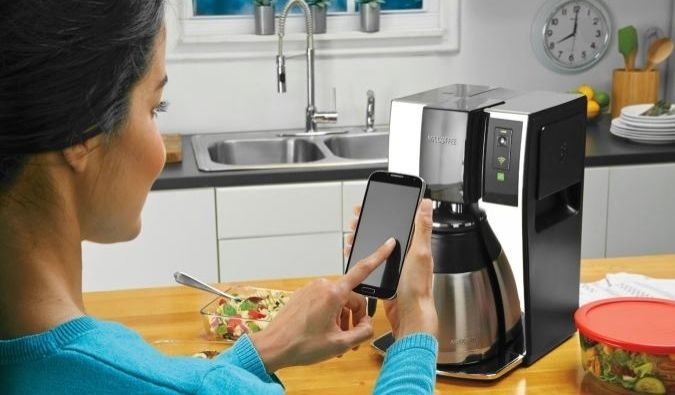 Mr. Coffee Smart Optimal Brew Coffeemaker With WeMo Connectivity http://coolpile.com/gadgets-magazine/mr-coffee-smart-optimal-brew-coffeemaker-wemo-connectivity via coolpile.com by @mrcoffee #Android #BePrepared #Coffee #Cool #Design #Gifts #HomeAutomation #iPhone #Steel #Wemo #coolpile