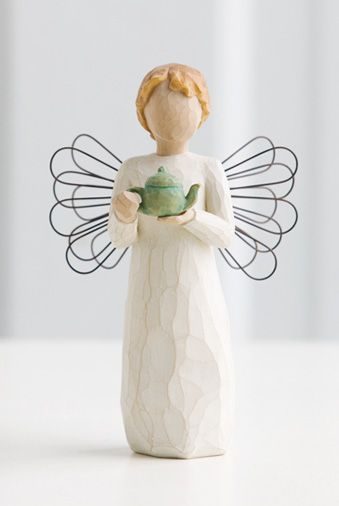Willow Tree Angel of the Kitchen.  I need this one to pair with my education themed one for a tea and reading angel set ;o)