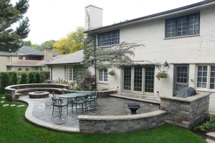 Mejores 15 im genes de patios en pinterest p rgolas for Perspective jardin 78