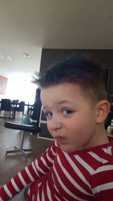 My youngest boy