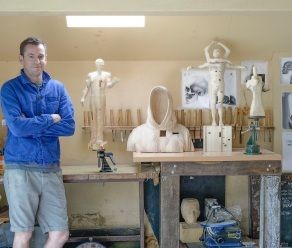 In a protest against the Twitter age, Perth animator, video editor, filmmaker and artist Paul Kaptein has turned to spending hundreds of hours diligently carving wood.