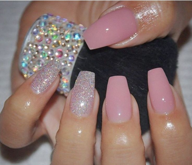 The 25+ best Plain acrylic nails ideas on Pinterest ...