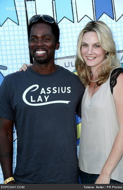 Brittany & Harold Perrineau ~ 10 years    Actors Harold and Brittany Perrineau have been together for about 20 years and tied the knot in 2002. They have been happily married since.