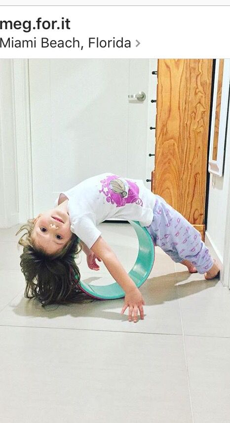 Yoga wheel yogi little yogi