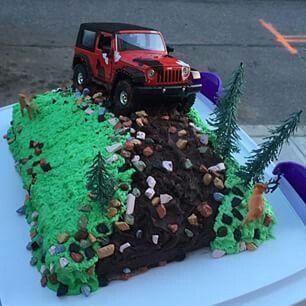 Awesome Jeep cake!