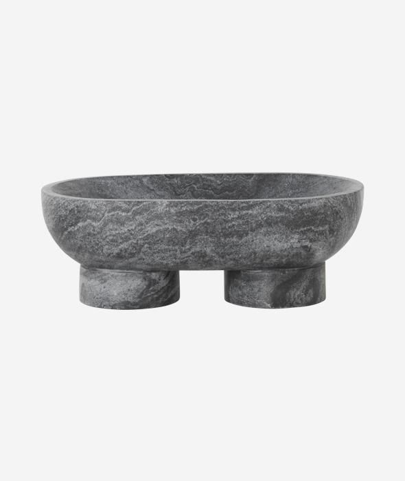 Alza Marble Bowl 2 Colors Marble Bowl Ferm Living Bowl